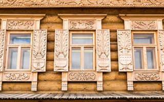 Декоративные деревянные наличники