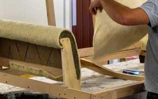 Инструкция по изготовлению углового дивана