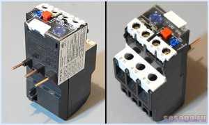Автомат для защиты двигателя от КЗ и тепловой перегрузки