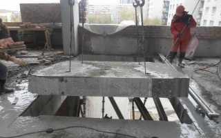 Демонтаж плит перекрытий безударным способом по оптимальным расценкам