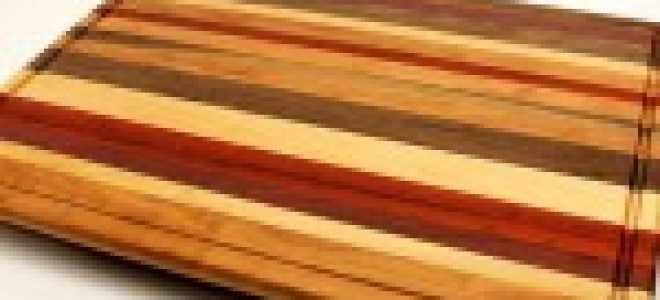 Деревянные разделочные доски: видео-инструкция по монтажу своими руками, особенности круглых, профессиональных изделий больших размеров, чем обработать, цена, фото