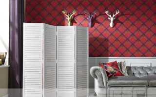 Белые ширмы: деревянные резные и жалюзийные ширмы для комнаты, пластиковые и другие модели