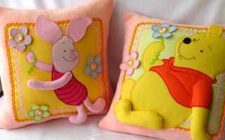 Детские декоративные подушки – 32 фото идей