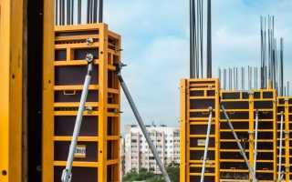 Виды монолитной опалубки для строительства дома
