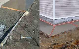 Герметик для швов в бетонной отмостке