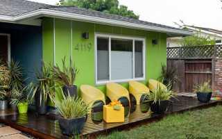 Дизайн проект частного дома в зеленом и салатовом цвете