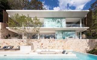 Дом в райском месте на побережье Австралии