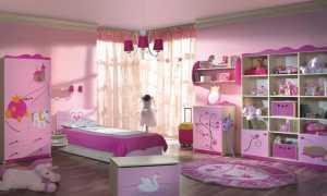 Как выбрать шторы в детскую комнату для девочки?