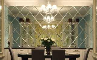 Зеркальные панели ПВХ. Характеристика и особенности материала.