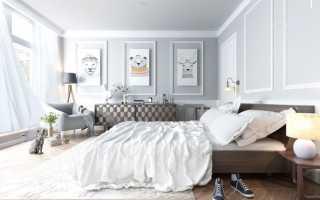 Интерьер спальни в пастельных тонах: особенности, фото