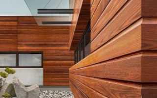 Виды и правила монтажа фасадных панелей под дерево