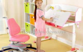 Варианты выбора письменных столов для детской комнаты