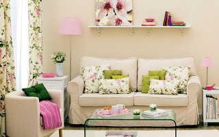 Интерьер маленькой гостиной: 2 комнаты = 8 стилей декора с мебелью из ИКЕА
