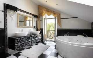 Вещи, которые делают ванную комнату неопрятной