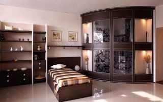Встроенный угловой шкаф, разновидности, материалы, критерии выбора