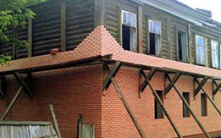 Деревянный дом обложенный кирпичом плюсы и минусы