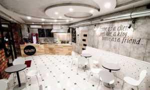 Дизайн уютной кофейни