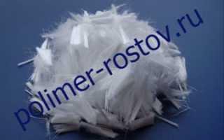 Использование фиброволокна для стяжки пола