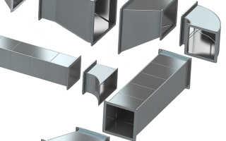 Всё о вентиляции из оцинкованной стали: трубы, воздуховоды, короба и их цены