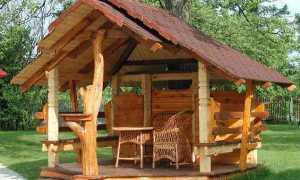 Беседки из дерева: общие рекомендации и технология строительства
