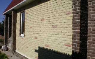 Виды отделки фасада дома под кирпич