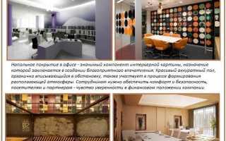 Выбор ковролина для офиса, советы по подбору напольного покрытия и правила укладки