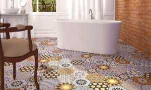 Гигантская плитка — один из модных трендов в дизайне интерьера