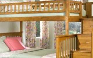 Двухъярусные кровати с ящиками: усиленные модели со ступеньками, лестницей и полками для хранения, инструкция по