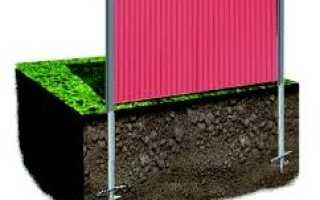 Винтовые заборы – основные преимущества и правила установки