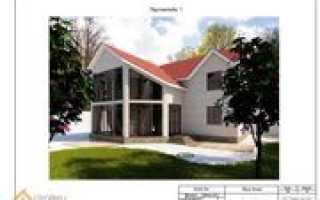 Замечательный проект реконструкции деревенского дома