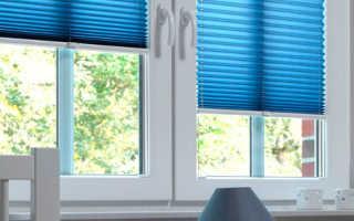 Выбираем шторы плиссе на пластиковые окна