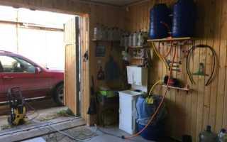 Автомойка в гараже: как оборудовать своими руками