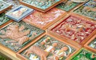Изразцовая плитка для камина: какую выбрать