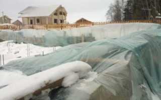 Защита фундамента на зиму