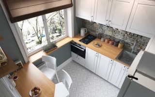 Дизайн кухни 2 на 2 метра: фото интерьера маленького помещения с холодильником