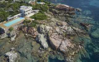 Вилла на Средиземном море от французских архитекторов