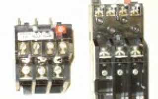 Как выбрать тепловое реле для двигателя по мощности и току