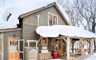 Замечательный проект традиционного сельского домика