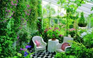 Дом с зимним садом: особенности постройки оранжереи и её отделка