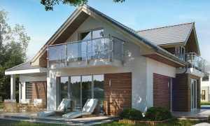 Архитектура на маленьких участках: высокий дом Mount Baker с балконом и террасой
