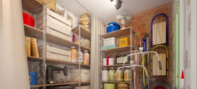 Варианты полок в кладовку своими руками (37 фото): как сделать стеллаж из дерева, организация хранения инструментов