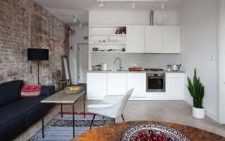 Дизайн-проект квартиры-студии +80 фото
