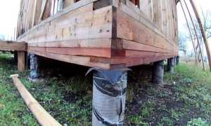 Возводим свайный фундамент для каркасного дома
