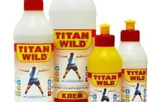 Как выбрать клей Titan?