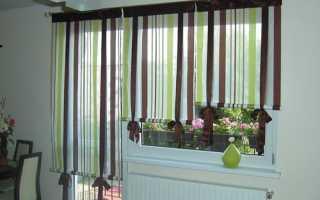 Выбираем шторы до подоконника в комнаты
