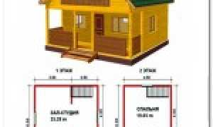 Дом из бруса 6 на 6: видео-инструкция как построить, своими руками, особенности планировки построек из клееного материала 150х150, сколько надо материала, проекты, цена, фото