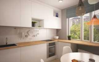 Дизайн кухни 10 кв м в доме серии П 44 с коробом: варианты обустройства
