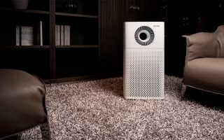 Домашний бытовой очиститель воздуха от пыли
