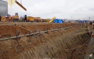 Водопонижение иглофильтрами грунтовых вод на строительных площадках.