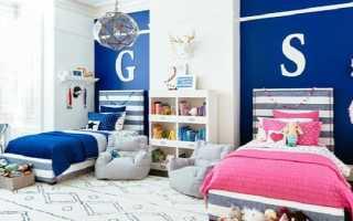 Двое детей в квартире, организация пространства – фото примеров